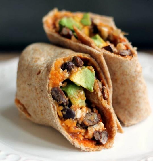 Mashed Potato Breakfast Burrito